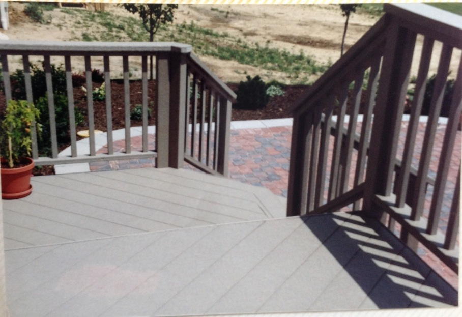 Plastic Deck and Rail