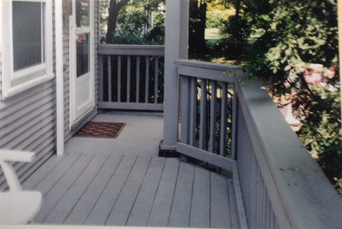 Plastic Rail and Deck